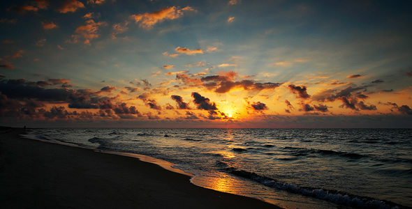 St. George Island Florida Sunset