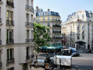view from paris hotel