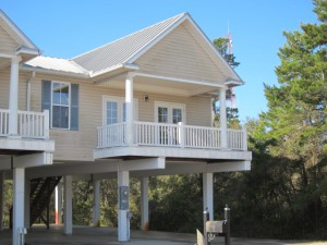 SOLD:  $65,100.  July 2014.  3 BR/2 BA townhome at 509-D East Meridian in Carrabelle.