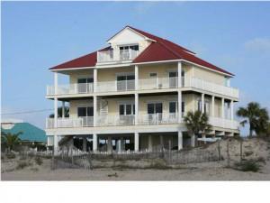 Beach Buzz, gulf front, 6 BR/5.5 BA - $1,500,000.