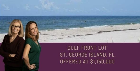 Gulf Front Lot on St. George Island